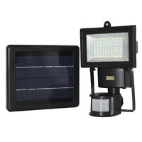 60 Leds Solar Motion Sensor Light 300 lumen High Output wireless