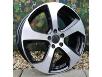 "18"" Golf 7 GTI Style for VW Audi Seat 5x112 Etc"