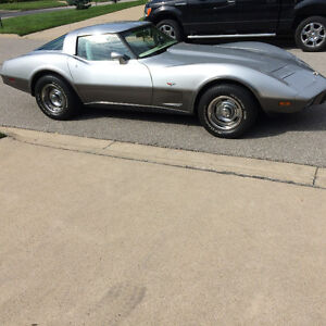1978 SILVER ANNIVERSARY EDITION CORVETTE FOR SALE