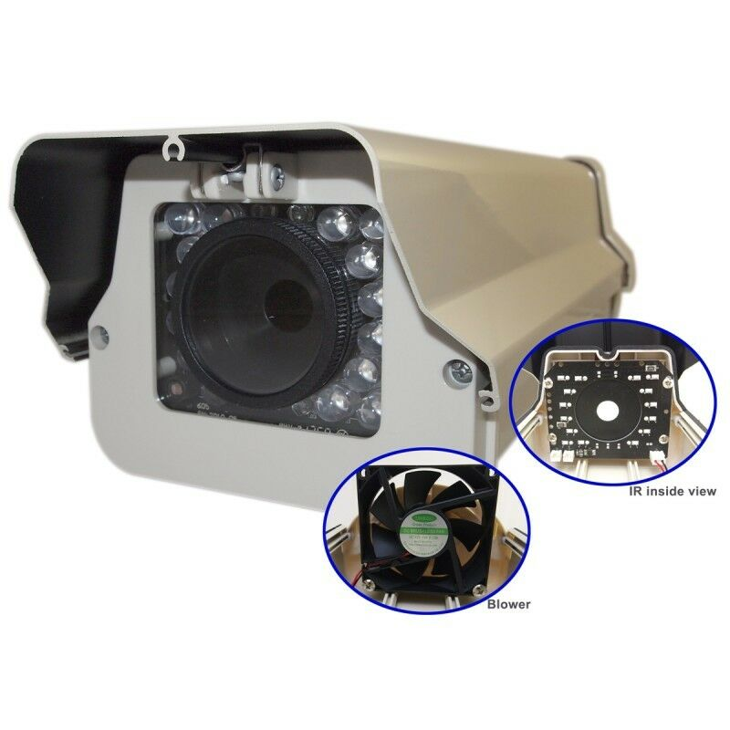 Housing Outdoor Camera Box with Night Vision Infrared with Blower/Cooler Wproof