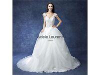 Adele Laurent Gabrielle Wedding Dress Size 12