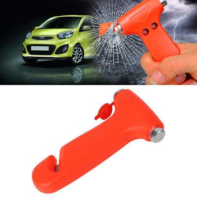 Emergency Hammer Window Breaker Seatbelt Cutter Accident Travel Safety Essential