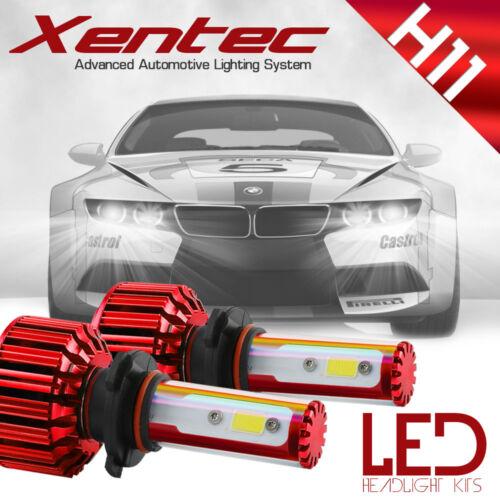 Xentec 200W 6000K 20000LM H11 H9 H8 LED Headlight Bulb Kit Low Beam Fog Light