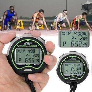 Sport-Digital-LCD-Chronograph-Counter-Stopwatch-Timer-Clock-Alarm-Stop-Watch