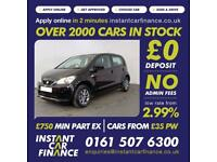 Seat Mii I-Tech Hatchback 1.0 Manual Petrol FROM £31 PER WEEK