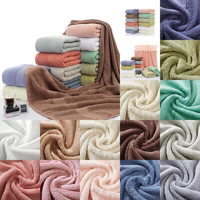 70*140cm 100% Egyptian Cotton Super Soft Luxury Large Bath Towels Sheet Home Kit