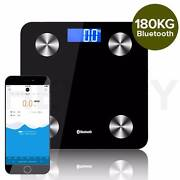 Wireless Bluetooth Digital Body Fat Scale Black/White/Pink Melbourne CBD Melbourne City Preview