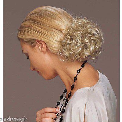 Short Curly Clip In - Synthetic Hair Piece - Revlon / TressA