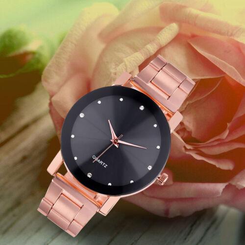 $3.58 - Vogue Men's Analog Wrist Watch Luxury Quartz Sport Stainless Steel Dial  Kit