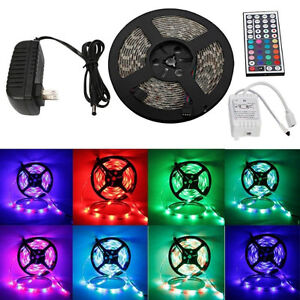 Waterproof LED Strip light Package.. 5M 2835SMD +Remote+Power 2A