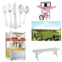 FREE DELIVERY! Chairs and Tables Party Rentals!