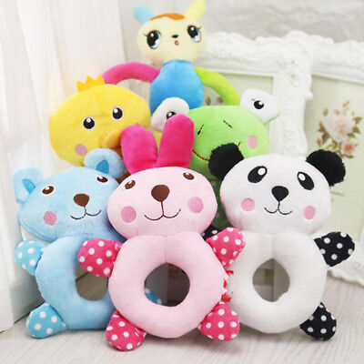Cute Pet Dog Chew Exercise Toy Soft Attract Sound Puppy Bite Play Plush Toys
