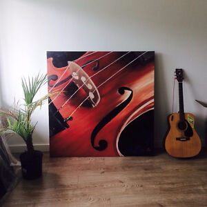 """""""Silent Sound""""- Oil painting"""