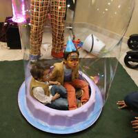 $185/1 hour kids birthday party package bubble show entertainer