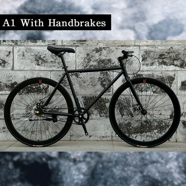 [1-3 Days Delivery] 26 Inch Bicycle with Disc brakes! Brand New Full Black Bicycle