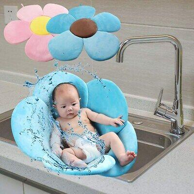 Blooming Bath Flower Bathtub Mat Baby Bathing Sink Cushion S