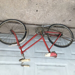 Antique CCM bicycle/bike