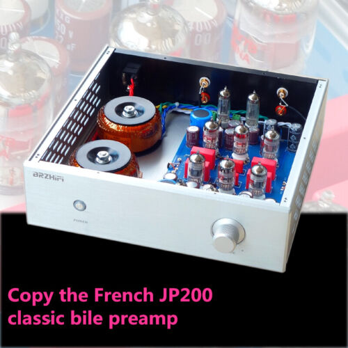 Reference France JP200 vacuum Tube Preamplifier Hifi Stereo 6Z4 12AX7 preamp