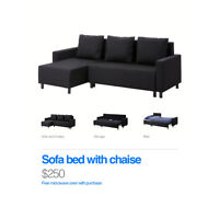 Ikea sofa bed for cheap