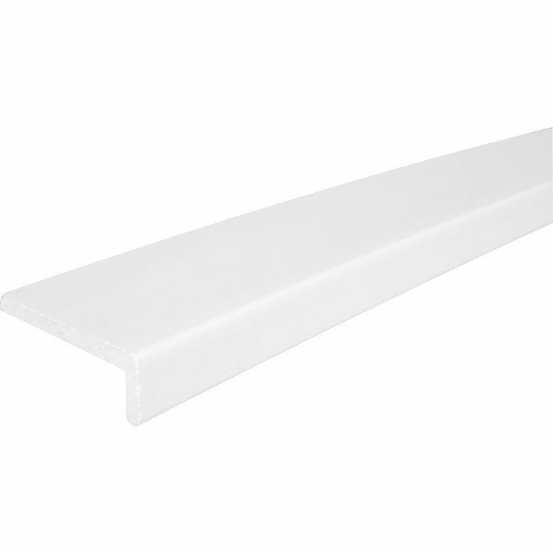 2 x 9mm White Cover Fascia Board 200mm x 3m