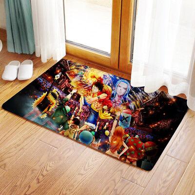 Neu Anime One Piece Luffy Nami Matte Toilette WC-Vorleger Teppich Fußmatte