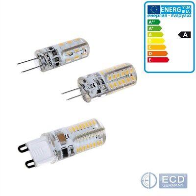 G4/G9 LED Birne Lampe Leuchtmittel Glühbirne Stiftsockel Licht 1,5W 3W SMD