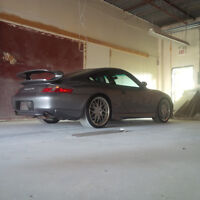 2001 Porsche 911 996 Carerra 4 Coupe with GT3 body