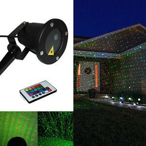 RG Laser Projektor Lichteffekte Outdoor Sternenhimmel Bühnenbeleucht mit RC