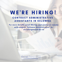 Contract Receptionist Starting Monday, January 28th 2019
