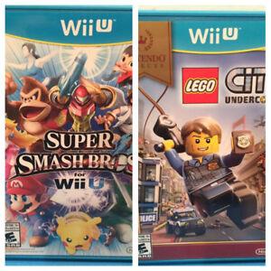*Jeux Super Smash Bros - 40$ Lego City Undercover - 20$
