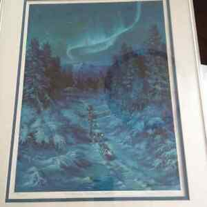 """Northern Lights"" by Diane Paton Peel 20x16 Comox / Courtenay / Cumberland Comox Valley Area image 2"