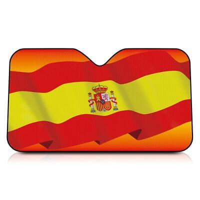 INT41113 Parasol para coche España Bandera 130X70
