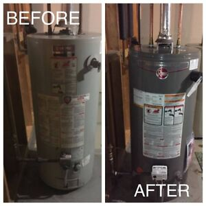 Hot Water Tank $199 Install - NO HIDDEN FEES Edmonton Edmonton Area image 4