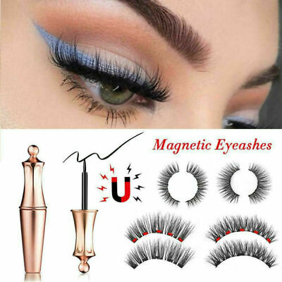 Magnetischer Flüssiger Eyeliner Magnetische Falsche Wimpern Multi Zur Auswahl