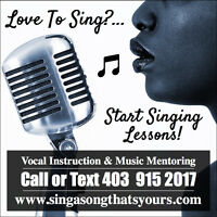 New Years Resolution: Singing Lessons!
