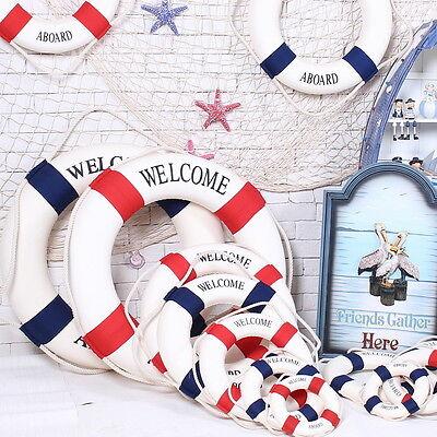 Wall Hanging Nautical Decor Boat Ring Life Preserver 14-35cm Wall Decoration QP - Life Preserver Decor