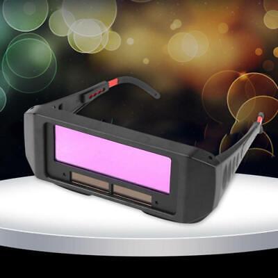 Black Battery Darkening Mask Welding Glasses Goggles Helmet Eyes Uv Protection