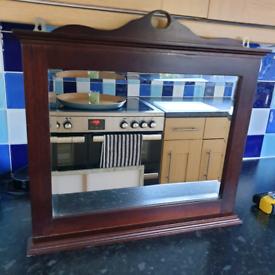 Nice mirror in wooden frame