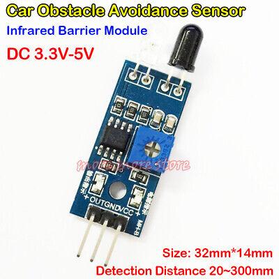 30cm Adjustable Distance Smart Car Obstacle Avoidance Sensor Infrared Pair Tube