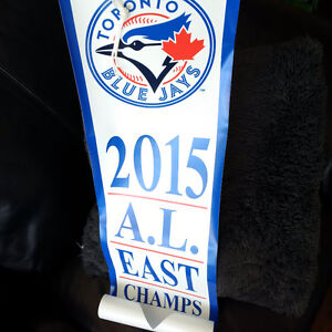 Blue Jays 2015 AL East Banner & Commemorative Playoff Tix