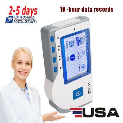 Us Mini Handheld Color Screen Ecg Ekg Portable Heart Monitor Medical Use Fda Ce