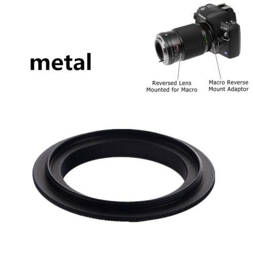HOT 52mm Macro Lens Reversing Reverse Ring Adapter For Canon EOS EF/EF-S Mount