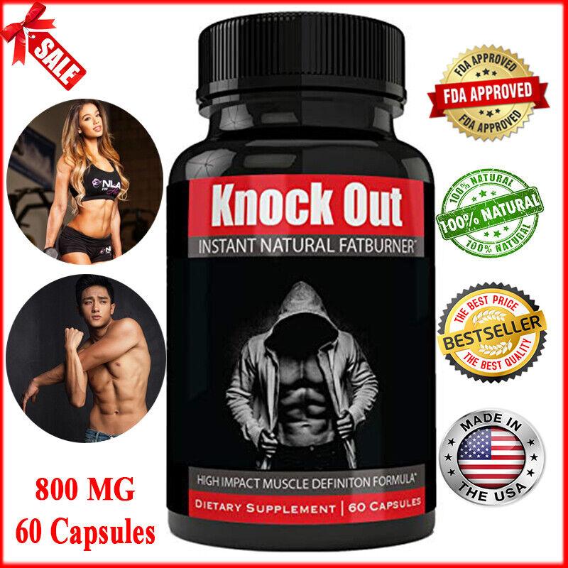 Details About Instant Knockout Fat Burner Diet Supplement Pill High Impact Weight Loss Pills