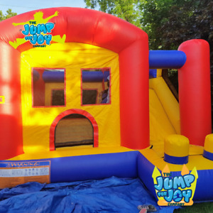 Jaw-Dropper Bouncy House with Slide
