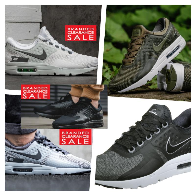 New Men Nike Air Max Zero Essential Black White Grey Olive Blue 6 7 8 9 10 uk