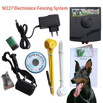 VALLADO INVISIBLE Collar Eléctrico AntiFuga Brida de distancia para Perro W227