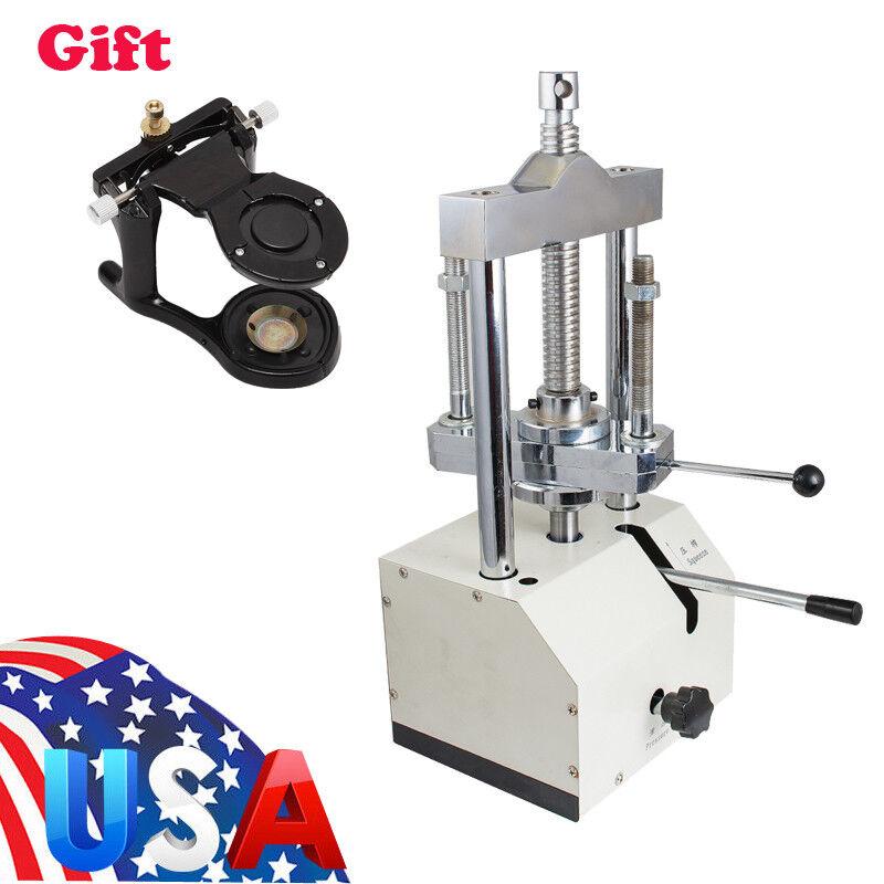 Dental Dentistry Lab Hydraulic Press Flask Presser Pressure Lifting+ Articulator