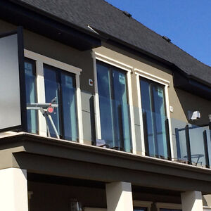 We supply and install   welded Aluminum railings and Vinyl Deck