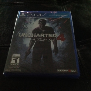 PS4 Uncharted 4 brand new