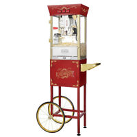 Popcorn Machine Cart Antique Look - Rental for Events